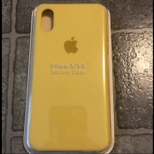 Other - iPhone X/XS silicone Case